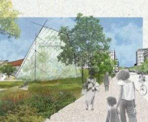 New Butterfly Pavilion rendering - a state-of-the-art invertebrate zoo and research center planned for Baseline